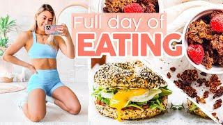 What I Eat in a Day: Intuitive Eating + Easy HOME Meals