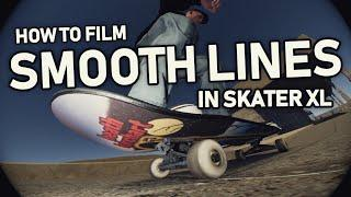 How to Film SMOOTH Lines in Skater XL! (Fixing Frames and adding Slow-mo)