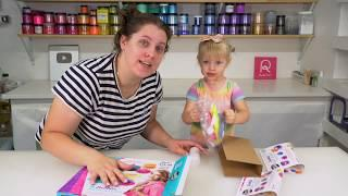 Making Soap Jellies and Bath Bombs with My 2 Year-Old | Royalty Soaps