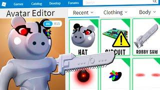 PIGGY DISGUISE TROLLING!! Pretending To Be FAKE ROBBY The Mechanical PIGGY In ROBLOX PIGGY!!