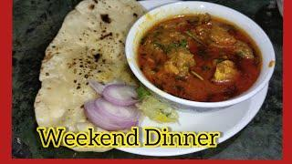 Special Dinner Menu Handi Chicken or Butter Naan |Chicken Handi recipe |Butter Tawa Naan Recipe