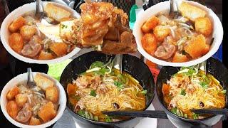 Amazing street food, Cambodian mouth watering street food, Khmer street food breakfast