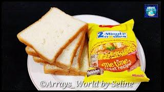 5 Minutes Evening Snacks Recipe | Crispy &Tasty Bread Snacks|Maggi Recipe| Lockdown |Instant snacks|