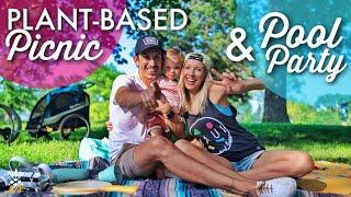 Plant-based Picnic & Pool Party | Family Fun Close To Home (GIVEAWAY!)