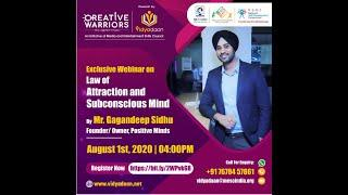 Law of attraction and subconscious mind | Creative Warriors Online Programs | Vidyadaan | MESC