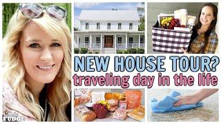 NEW GEORGIA HOUSE TOUR?! TRAVELING MORNING ROUTINE / TRADER JOE'S HAUL / GIFT BASKET / COOK + CLEAN