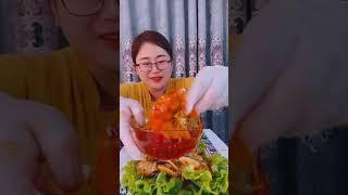 Seafood mukbang ASMR | Chinese Food ASMR | ASMR  Show Eating by #VshareKH [#16]