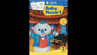 Baby Einstein: Baby Mozart 10th Anniversary Edition 2008 DVD Menu