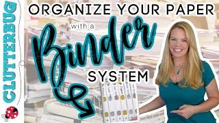 How to Organize Paper using a Binder System - Free Printables