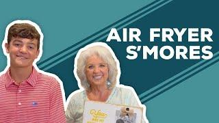 Love & Best Dishes: Air Fryer S'mores Recipe