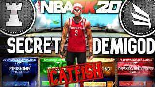 WHY DIDN'T WE KNOW ABOUT THIS BUILD SOONER?! CATFISH INTERIOR FINISHER NBA 2K20