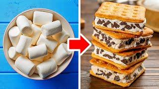 28 YUMMY IDEAS WITH MARSHMALLOW || 5-Minute Recipes to Impress Your Guests!