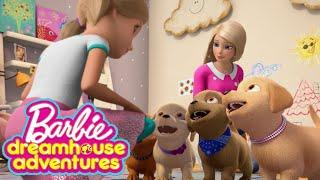 Barbie Dreamhouse Adventures Part 32 - Barbie Friends Dress Up Cooking Make up Game