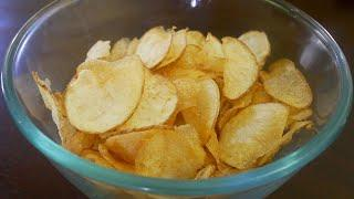 Potato Chips Recipe - Aloo Lays | Crispy Potato Chips for kids | Aloo Chips Recipe | Hot Wafers