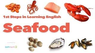 Learn SEAFOOD DISHES in English Through PICTURES | Vocabulary for Kids