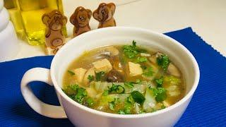 Simple Tofu Soup with Mushroom and Chinese Cabbage