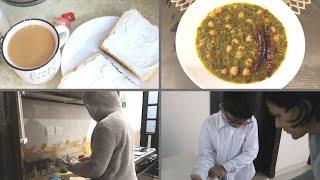 Early Morning Routine of a Mom - Breakfast, Lunch and Cleaning Routine -Urdu Hindi Vlogs