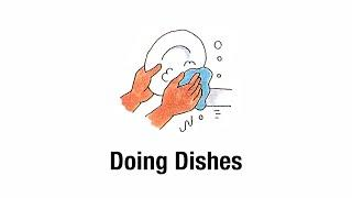27. Doing Dishes | English for Everyday Activities