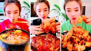Chinese mukbang eating soo fast can you do that ?